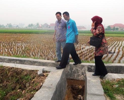 Tim UPSUS Pantau  Penyaluran Pupuk &Rehab Jaringan Irigasi