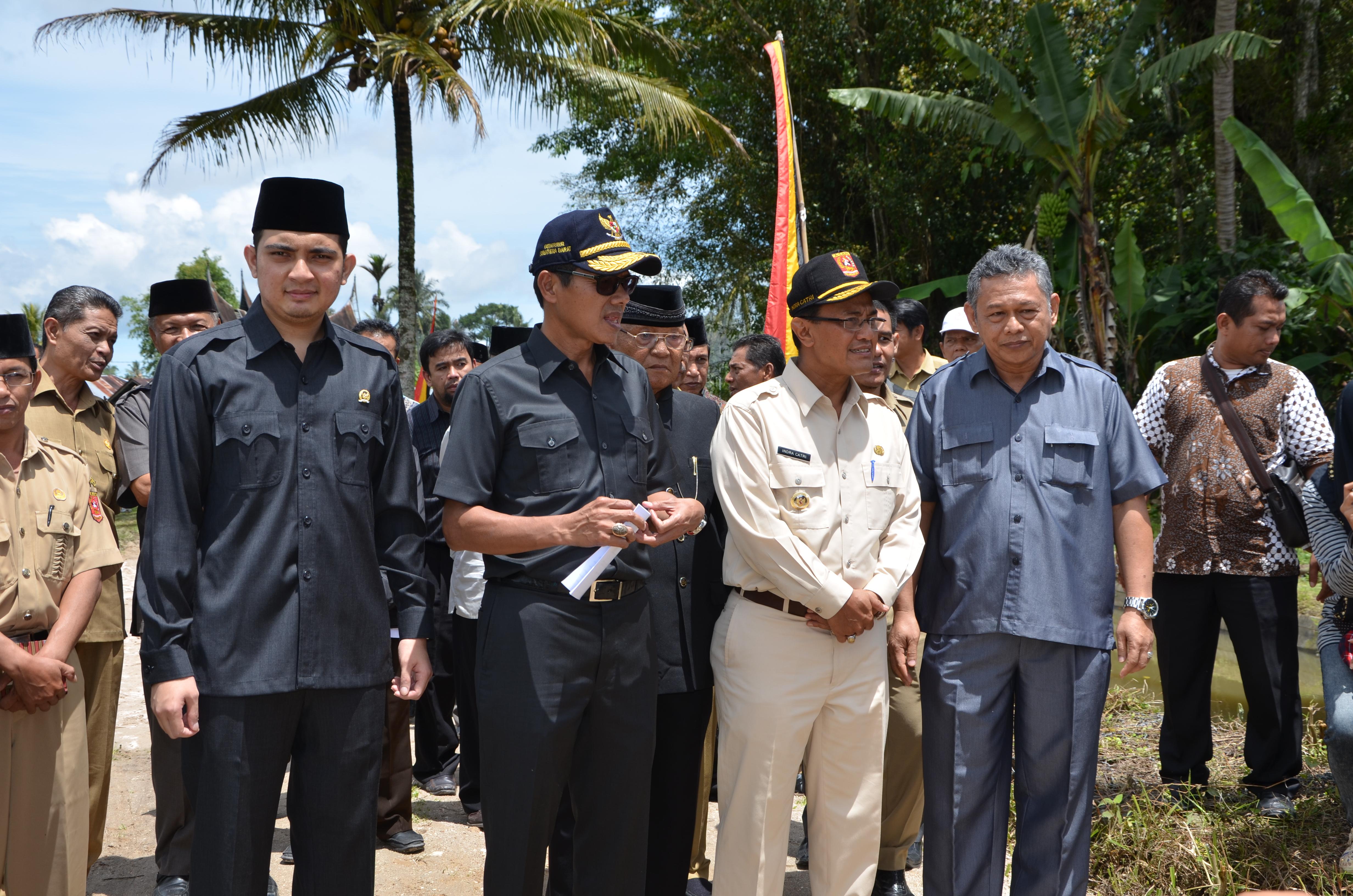 Sambutan Gubernur Sumatera Barat di Kabupaten Agam
