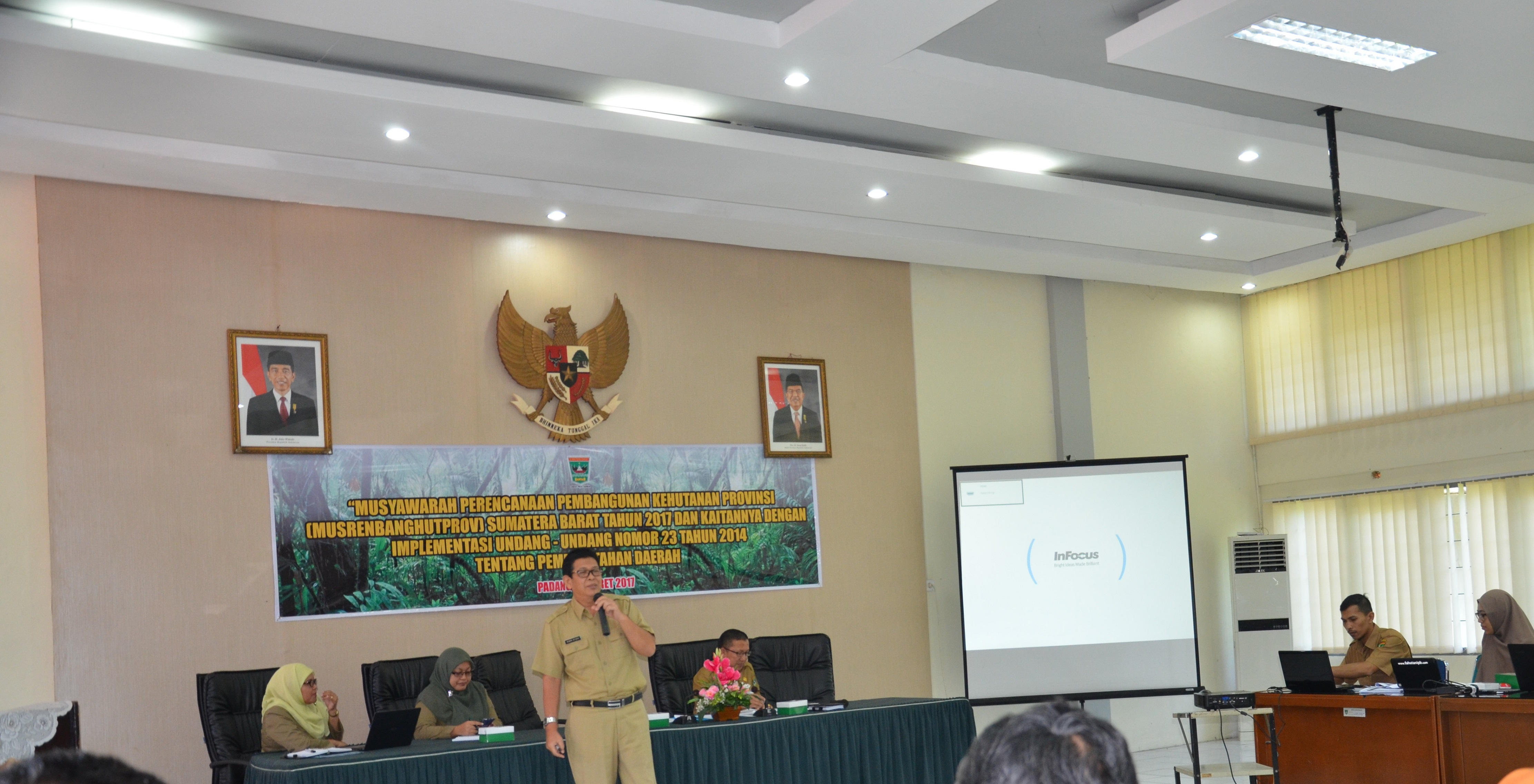 Musrenbanghutprov Dinas Kehutanan tahun 2017