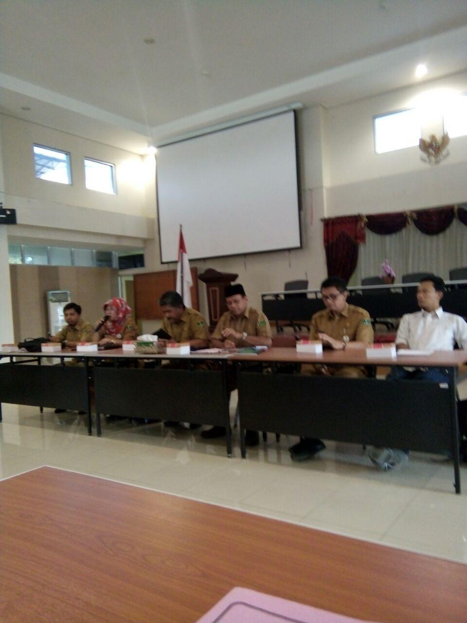 Rapat Teknis Persiapan Lomba Bercerita Tingkat SD/MI Tingkat Provinsi Sumatera Barat