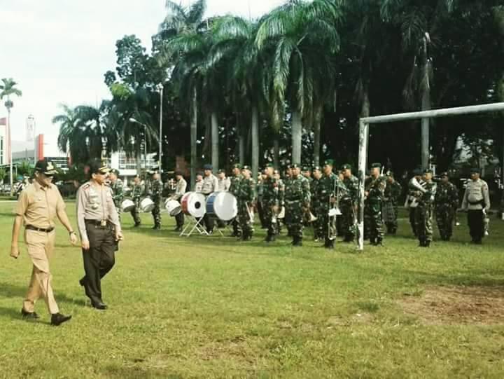 Gubernur Sumatera Barat Gelar Apel Operasi Ramadhan 2017