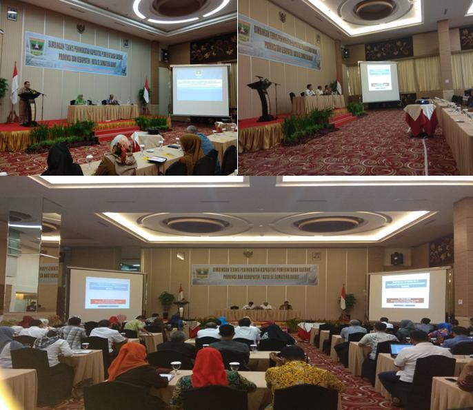 Bimbingan Teknis Peningkatan Kapasitas Pemerintahan Daerah Provinsi dan Kabupaten/Kota Se Sumatera Barat