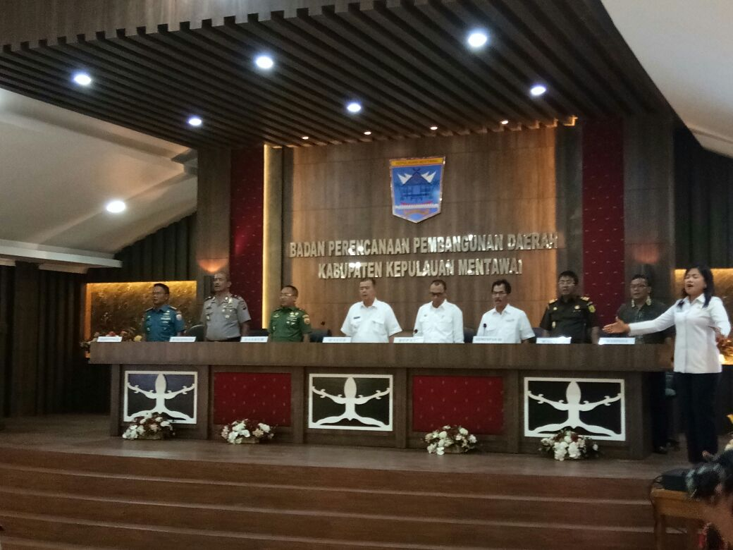 Forkopimda Sumbar agendakan percepatan pembangunan daerah Mentawai