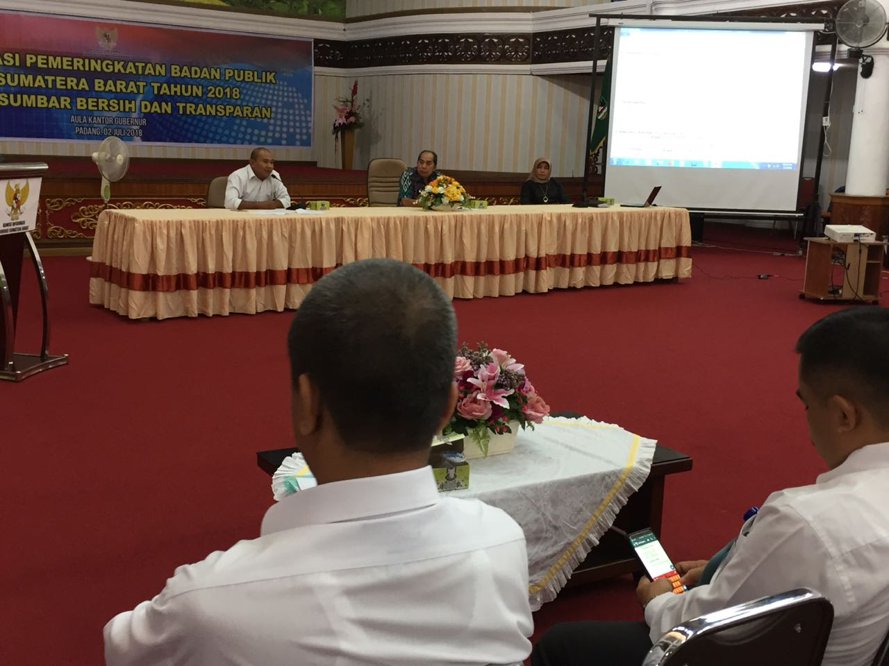 Komisi Informasi Sumatera Barat Cari Badan Publik Paling Transparan 2018