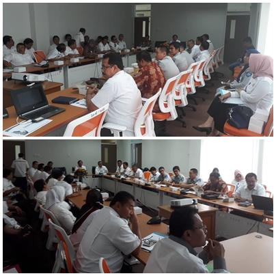 Rapat Koordinasi Pengelolaan Database Terpusat Aplikasi E-Samsat Provinsi Sumatera Barat