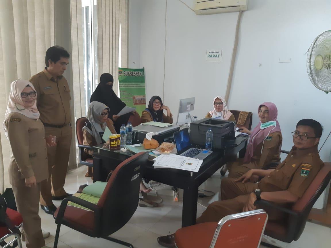 Kegiatan Penyelamatan Arsip Vital di Biro Administrasi Pengadaan dan Pengelolaan Barang Milik Daerah Setda Provinsi Sumatera Barat.
